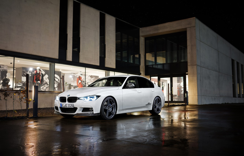 Photo wallpaper white, BMW, BMW, sedan, F30, AC Schnitzer, 3-Series