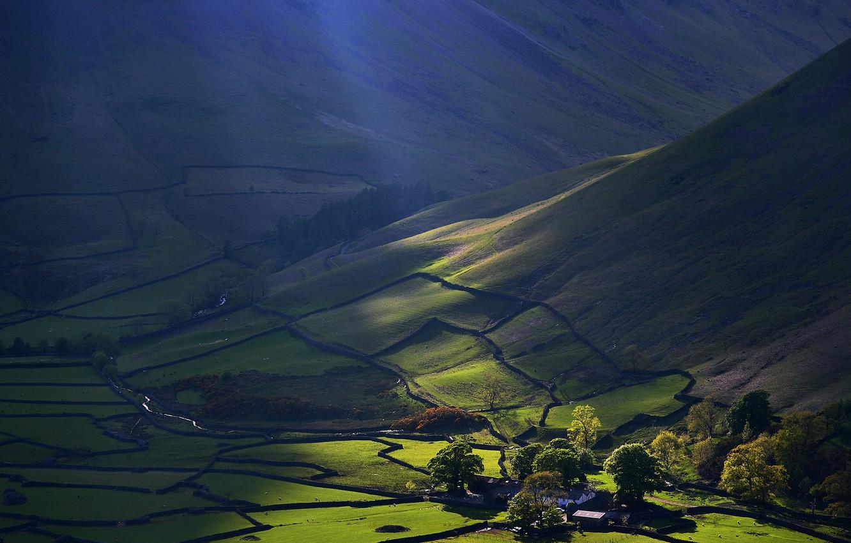 Photo wallpaper England, UK, England, Great Britain, The lake district, Lake District, National Park lake district