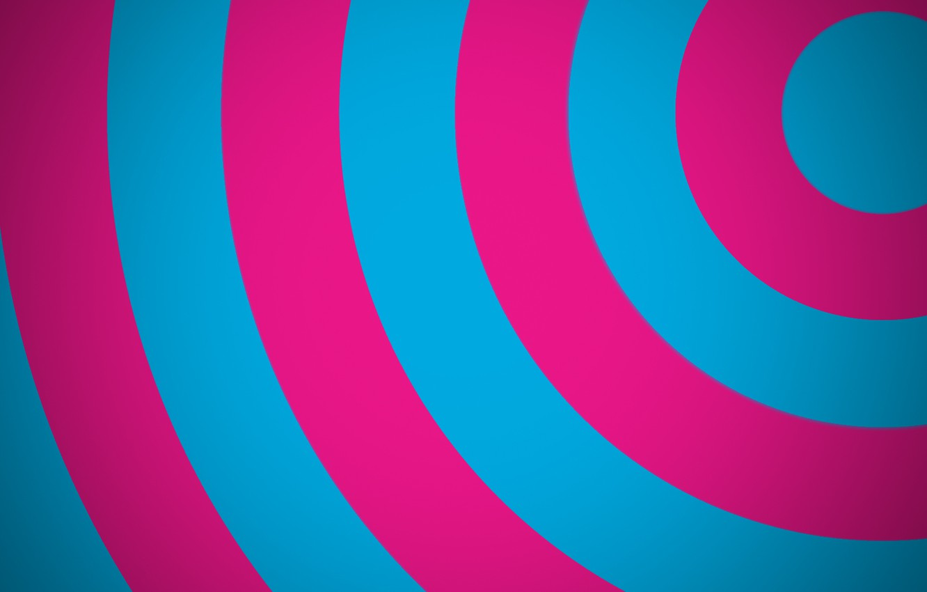 Wallpaper Abstraction Circles Bright Colors Images For