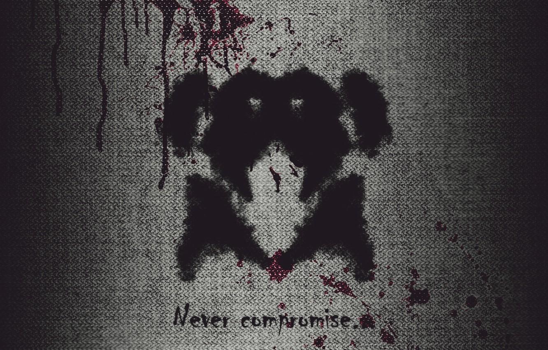 Keepers, Watchmen, Rorschach, photoshop