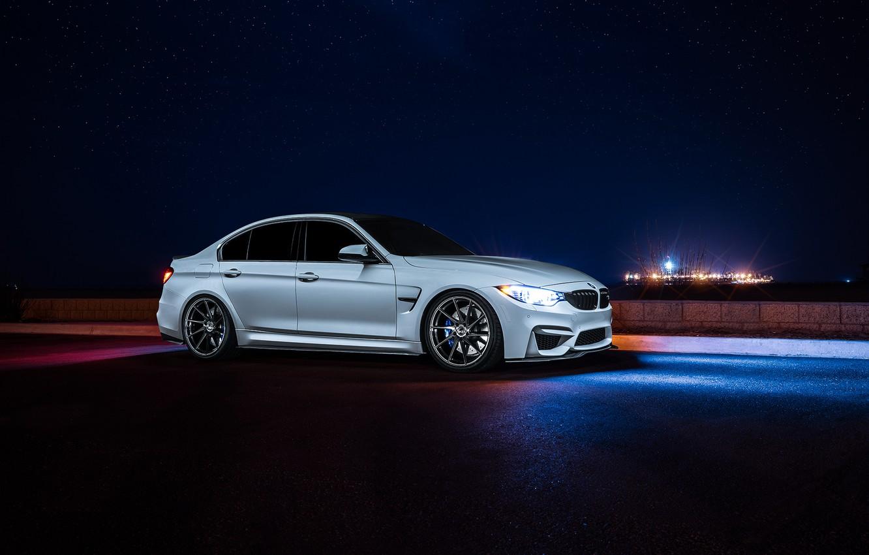 Photo wallpaper BMW, Dark, Front, Wheels, Before, Motors, Garde, Vibe, F80