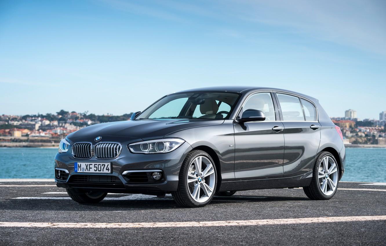 Photo wallpaper BMW, BMW, xDrive, 5-door, 2015, F20, Urban Line, 120d