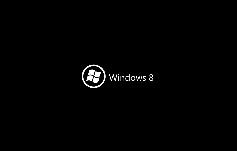 Wallpaper Background Black Logo Windows Images For