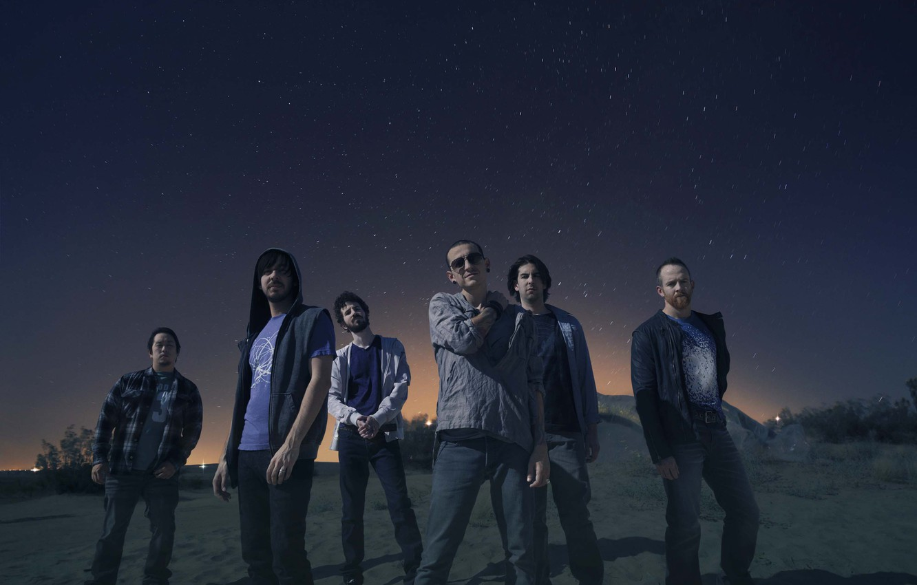 Photo wallpaper linkin park, chester, mike