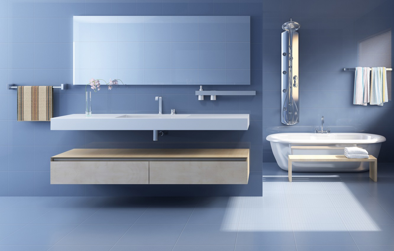 Photo wallpaper light, comfort, style, towel, morning, mirror, soul, comfort, shell, interiors, styles, sinks, bathrooms, restrooms, designs