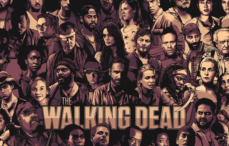 Wallpaper Walking Dead Daryl Carl The Walking Dead The Walking