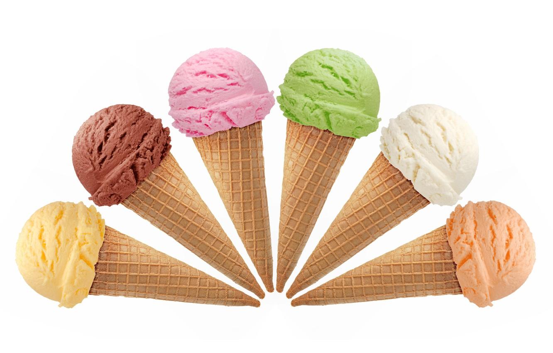 Photo wallpaper orange, chocolate, sweet, cream, dessert, vanilla, Ice Cream, limon