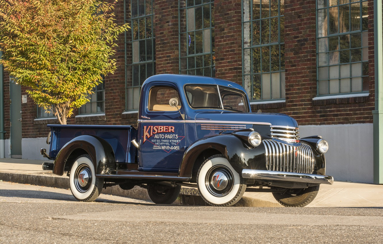 Photo wallpaper background, Chevrolet, Chevrolet, pickup, the front, Truck, 1941, Pickup