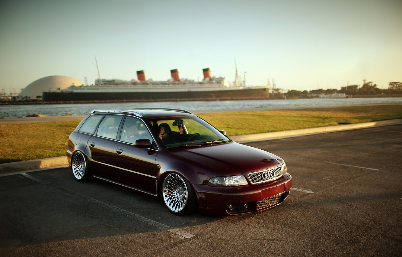 Photo wallpaper Audi, wagon, rs4, before