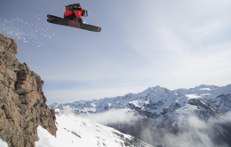 Photo wallpaper mountains, ski, freeride, freeride, backcountry, armada, Freerider, Backcountry