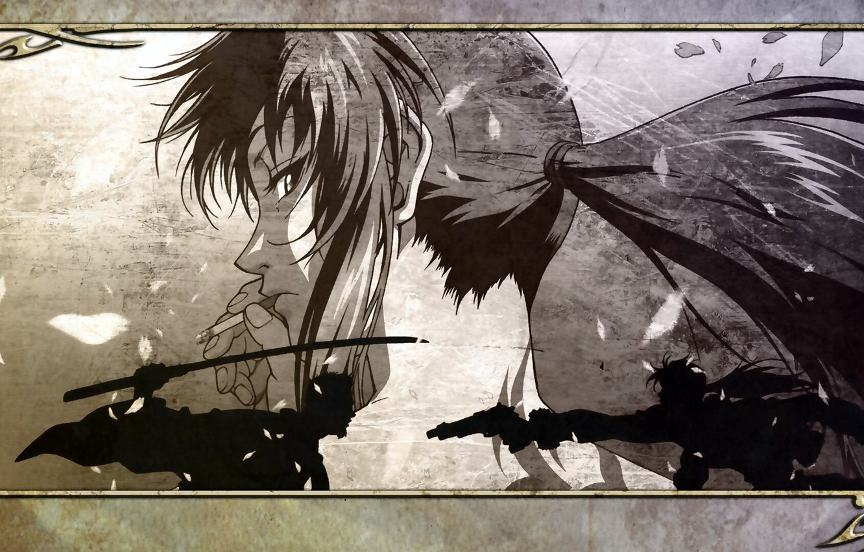 Photo wallpaper Black Lagoon, Revy, anime
