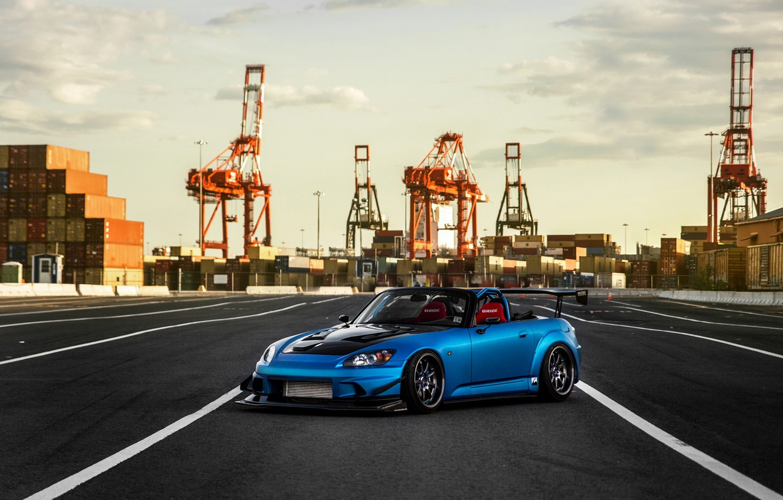Photo wallpaper car, tuning, Honda, tuning, honda s2000