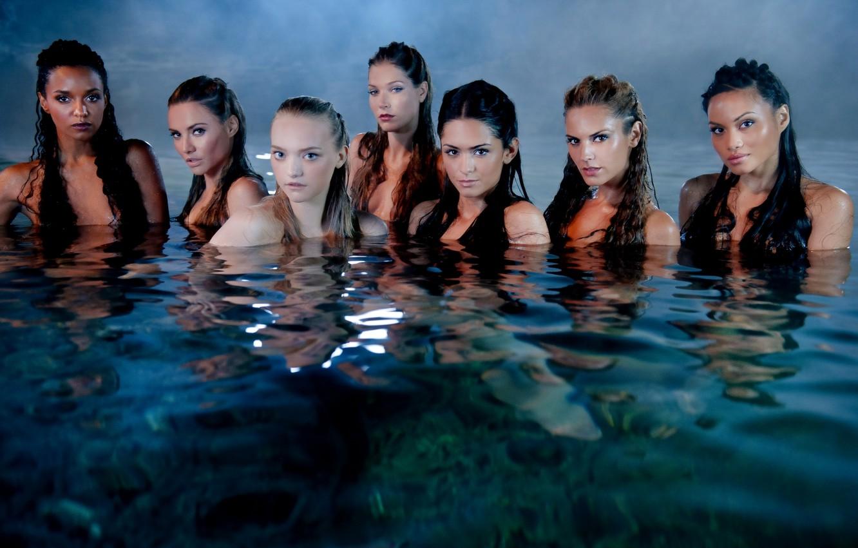 Photo wallpaper water, fog, girls, hair, Pirates of the Caribbean, mermaid, cute, Pirates of the Caribbean, Mermaid, …