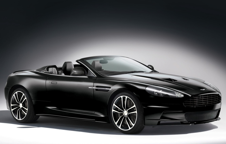 Photo wallpaper background, black, Aston Martin, supercar, convertible, aston martin, dbs, the front, carbon edition, DBS, volante, …