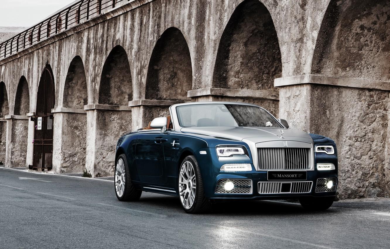 Photo wallpaper Rolls-Royce, convertible, Dawn, Mansory, rolls-Royce, down