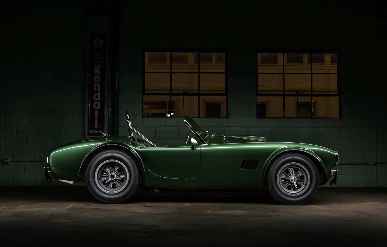 Photo wallpaper Shelby, Dragon, Green, Cobra, Side, CSX2472, 1365, Dragonsnake
