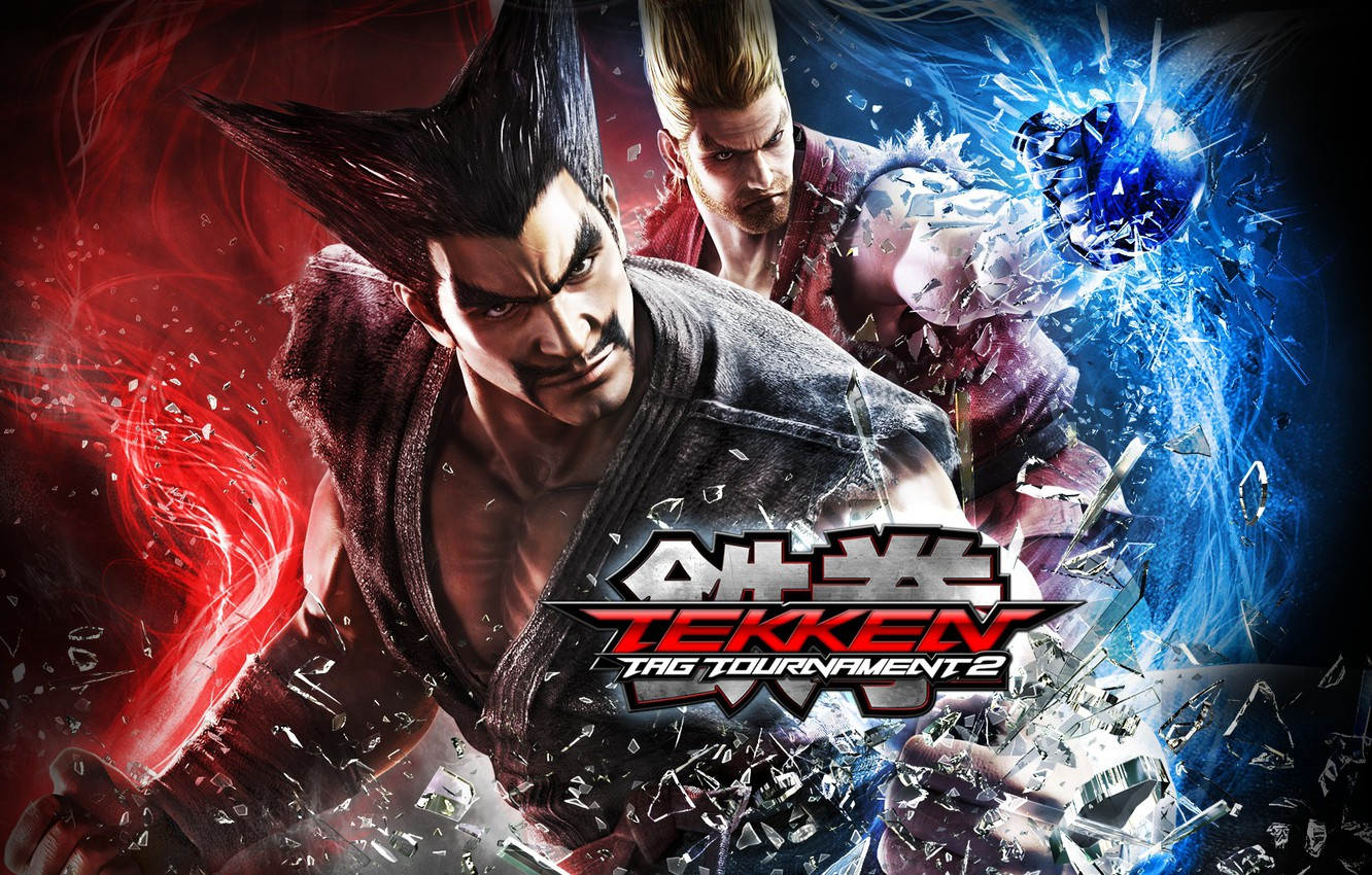 Wallpaper Namco Tekken Tag Tournament 2 Heihachi Mishima Paul Phoenix Images For Desktop Section Igry Download