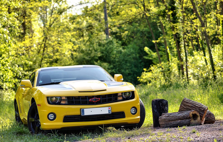 Photo wallpaper 2012, Chevrolet, camaro, chevrolet, transformers, Camaro, transformers edition