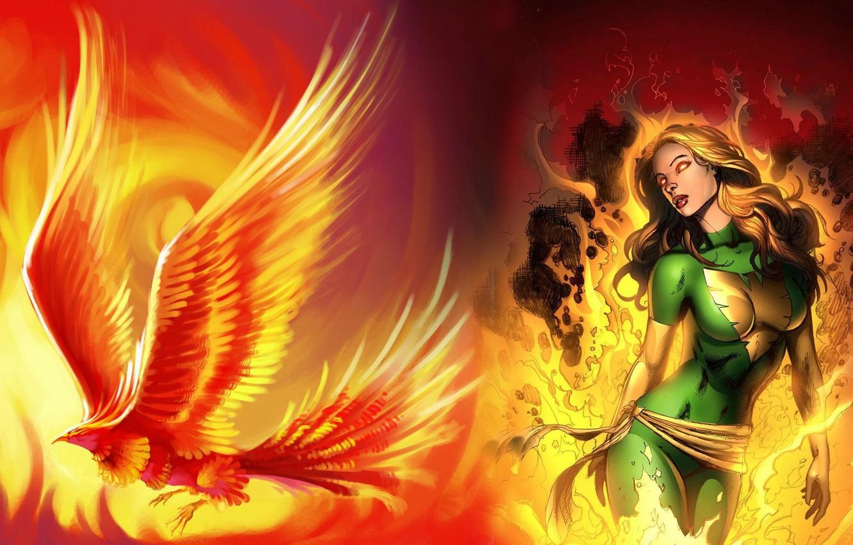 Wallpaper Marvel Phoenix Phoenix Jean Grey Jean Grey X