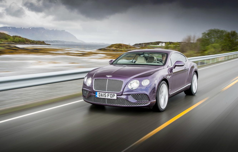 Photo wallpaper Bentley, Continental, Bentley, continental, 2015