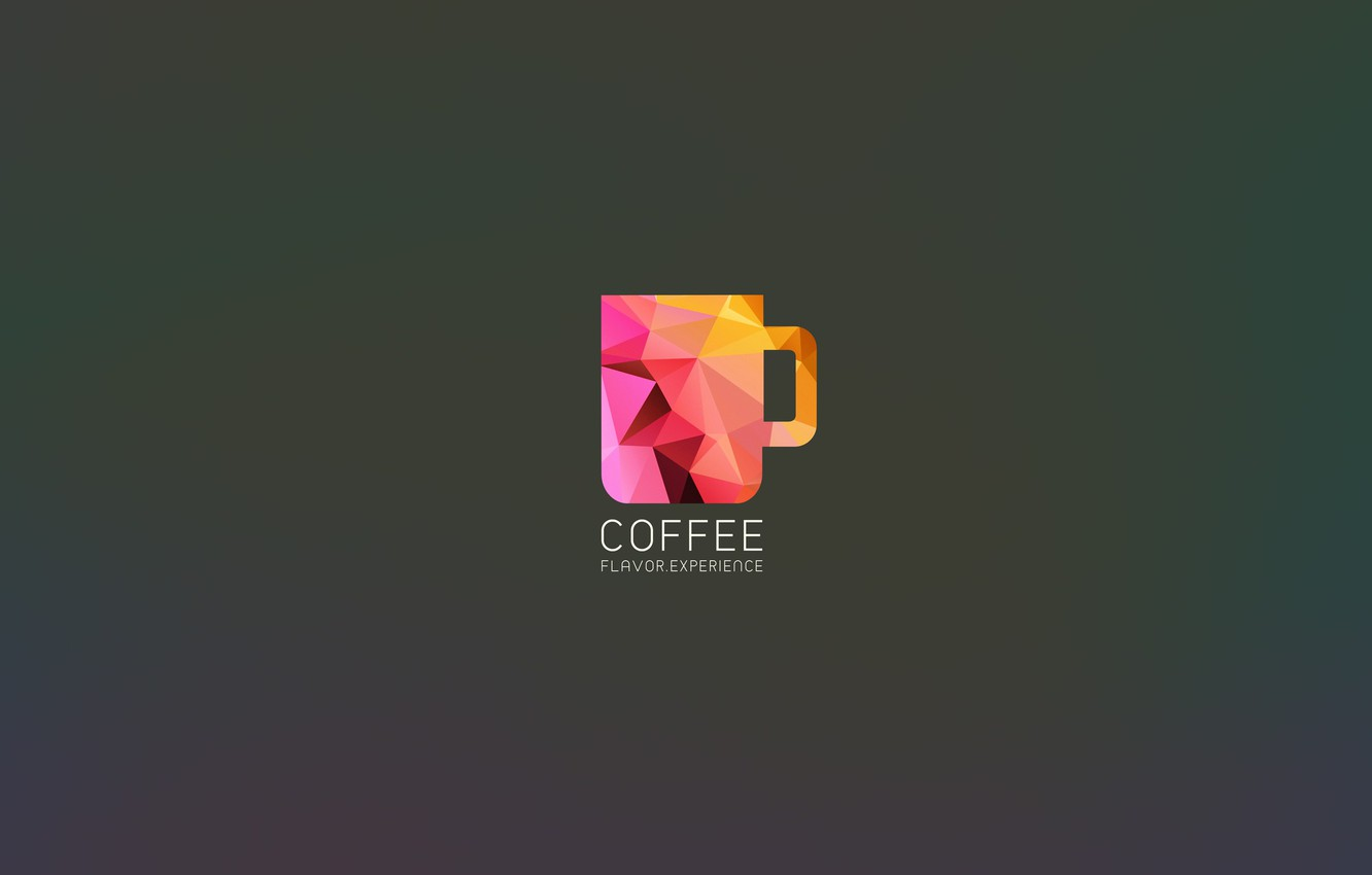 Wallpaper Art Minimalism Wallpaper Coffee Dark Dark Coffee