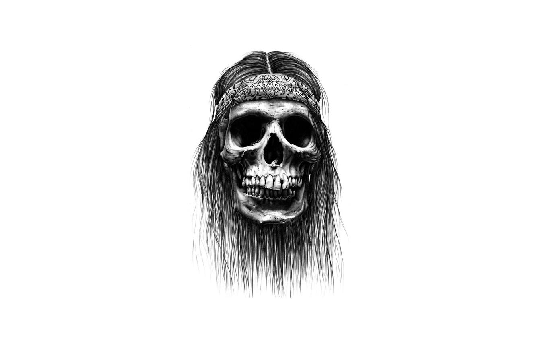 Photo wallpaper sake, bones, drawing