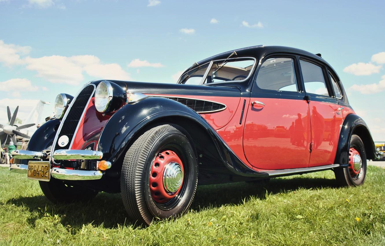 Photo wallpaper car, bmw, retro