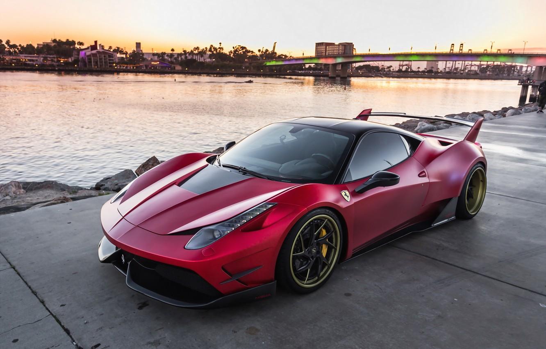 Photo wallpaper Ferrari, Misha, 458, Speciale, Designs