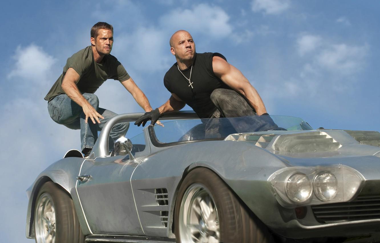 Photo wallpaper 2011, Vin Diesel, Paul Walker, fast five