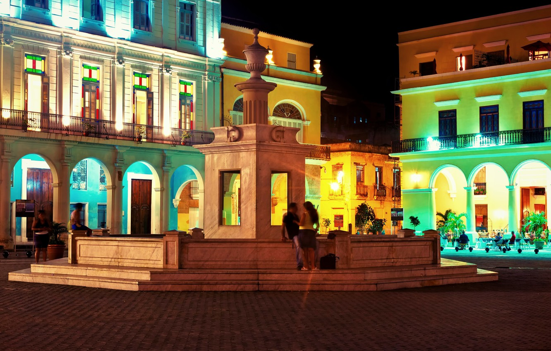 Wallpaper night, night, Cuba, Cuba, noche, Havana, Havana, Havana