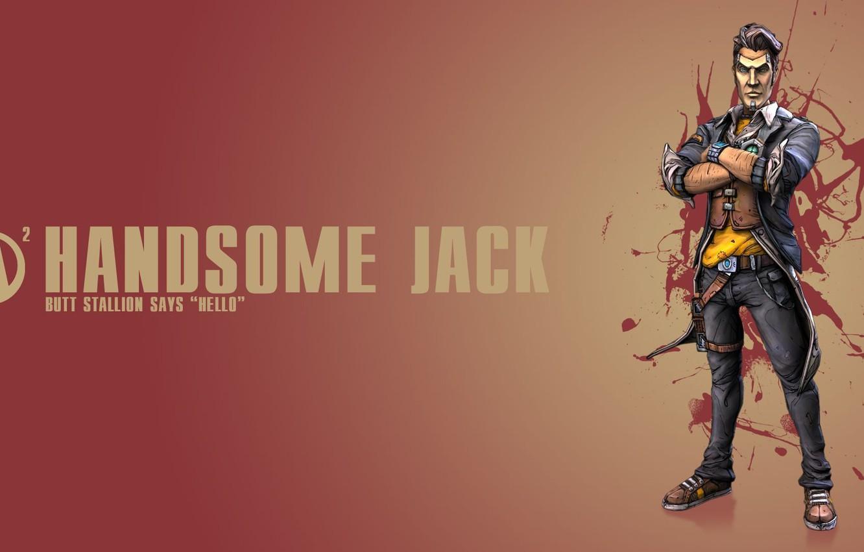 Wallpaper Background, Jack, Borderlands 2, Handsome Jack