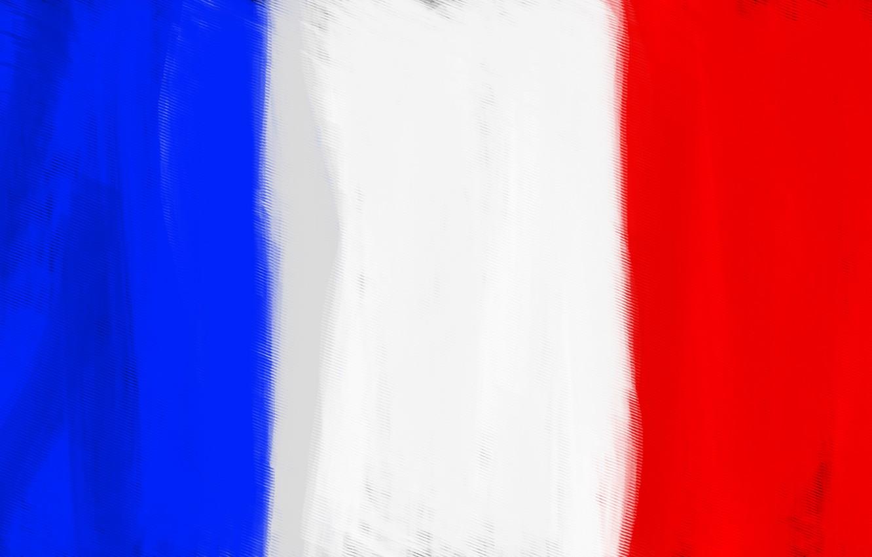 Wallpaper White Blue Red France Flag Flag Of France