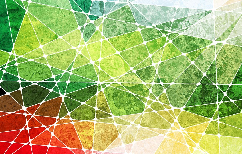 Photo wallpaper line, Wallpaper, color, structure, figure, geometry, triangle, nodes