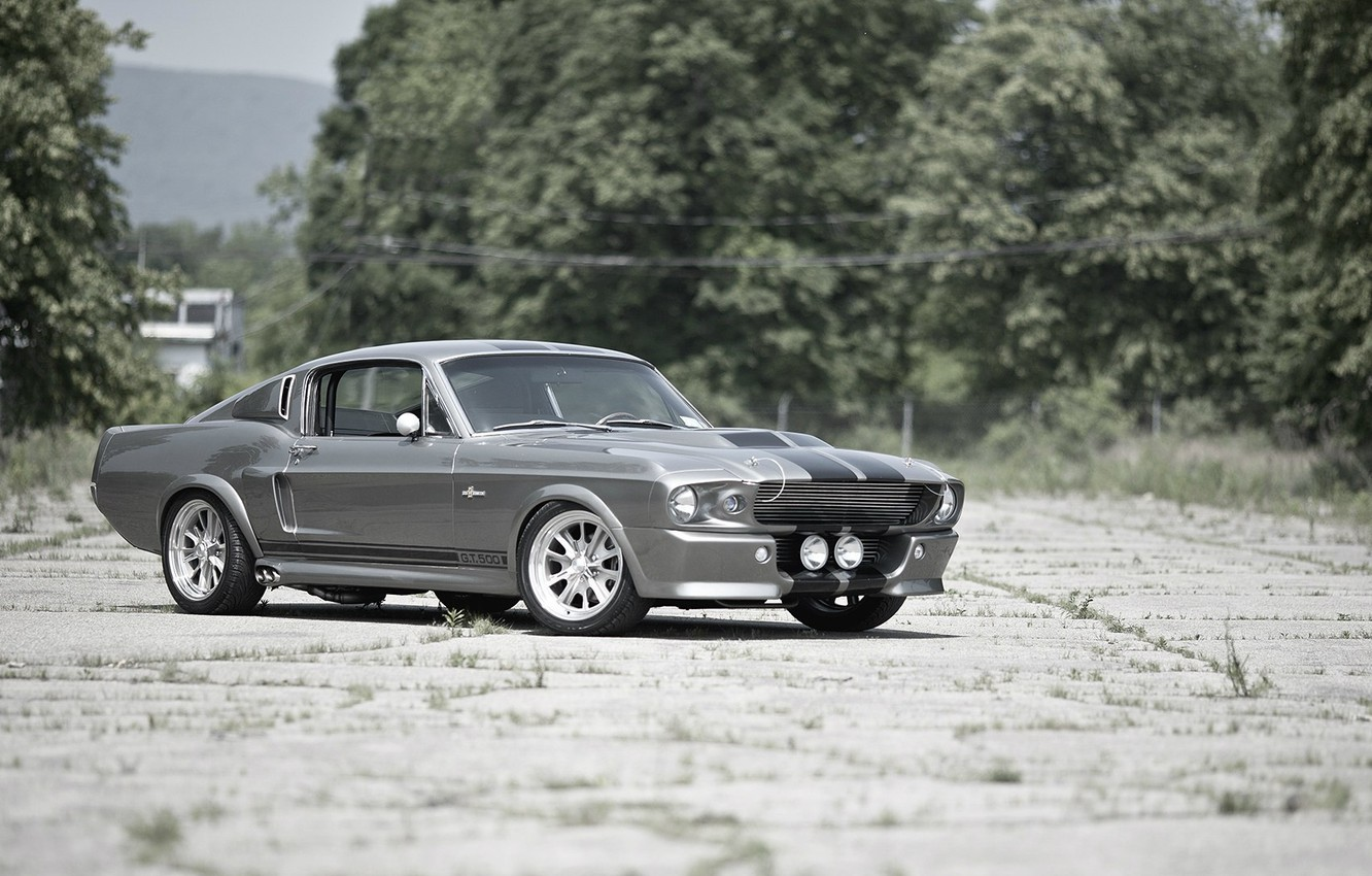 Photo wallpaper tuning, GT500, Ford Mustang, Ford Mustang, Shelby Eleanor
