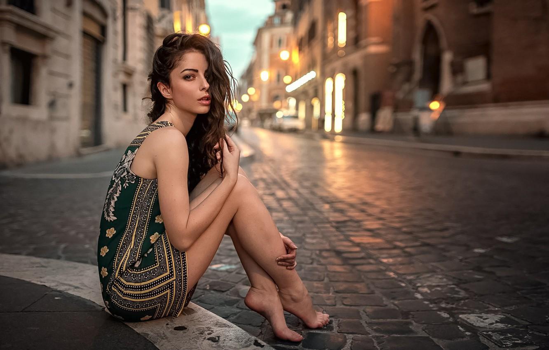 Photo wallpaper Girl, Look, Rome, Legs, The beauty, Micky Kraviz