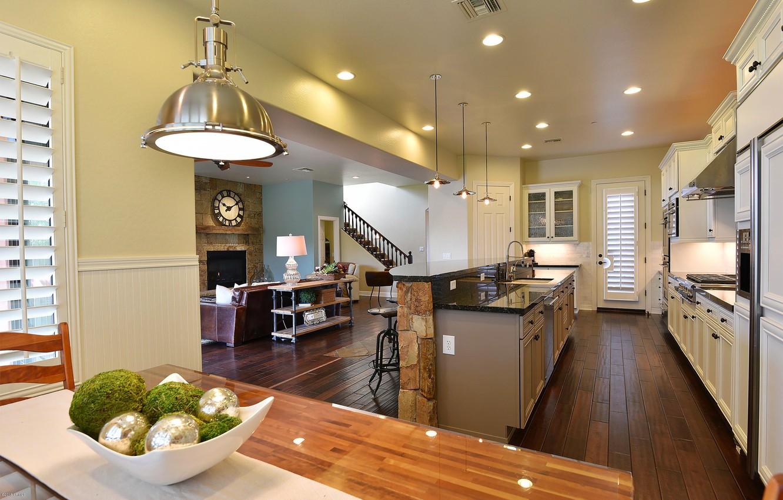 Photo wallpaper design, style, interior, kitchen, living space