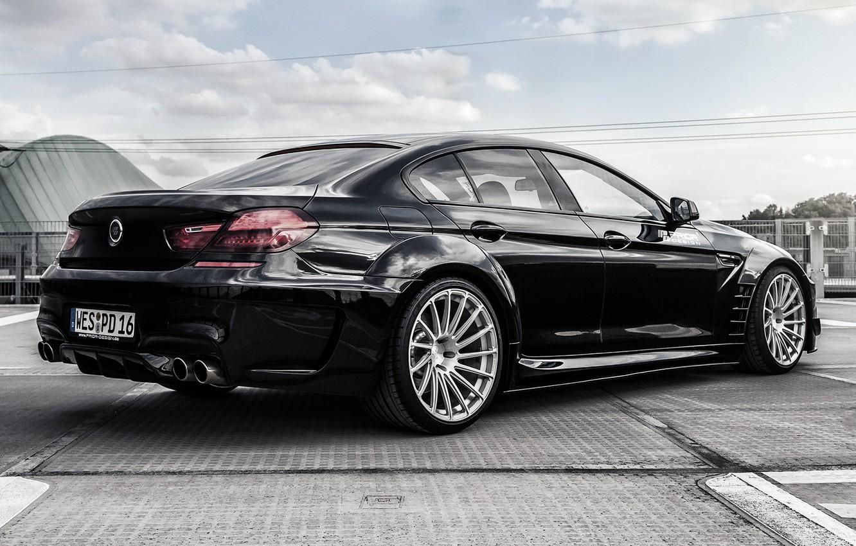 Photo wallpaper BMW, coupe, BMW, black, Black, Coupe, F06, Prior-Design