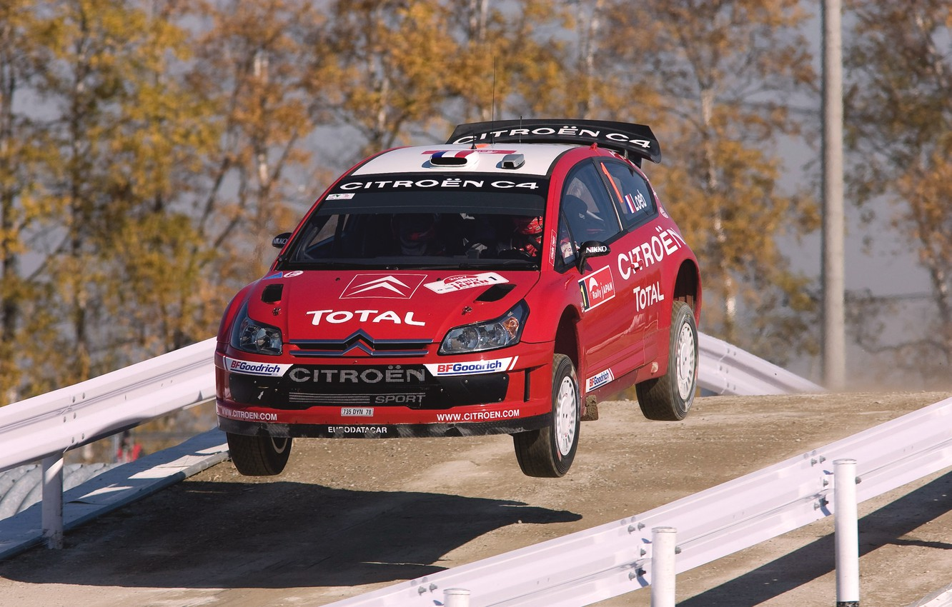 Photo wallpaper Red, Auto, Sport, Machine, Speed, Race, Citroen, Citroen, WRC, Rally, Rally, The front, In The …
