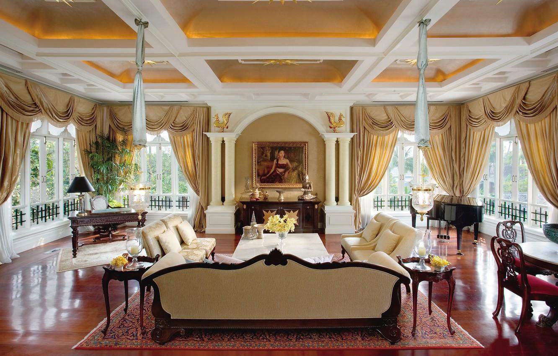 Photo wallpaper design, style, interior, living space