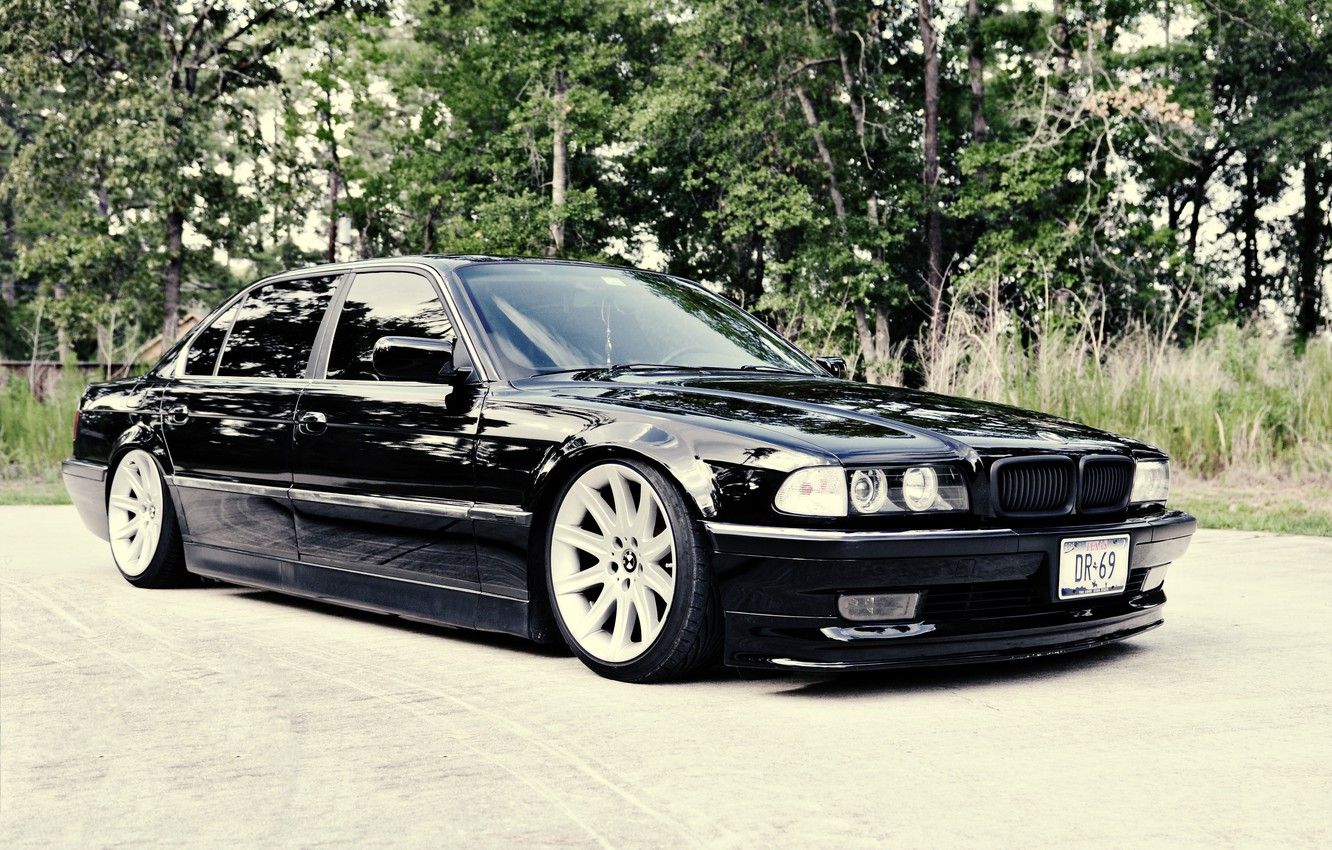 Photo wallpaper bmw, e38, 7 series