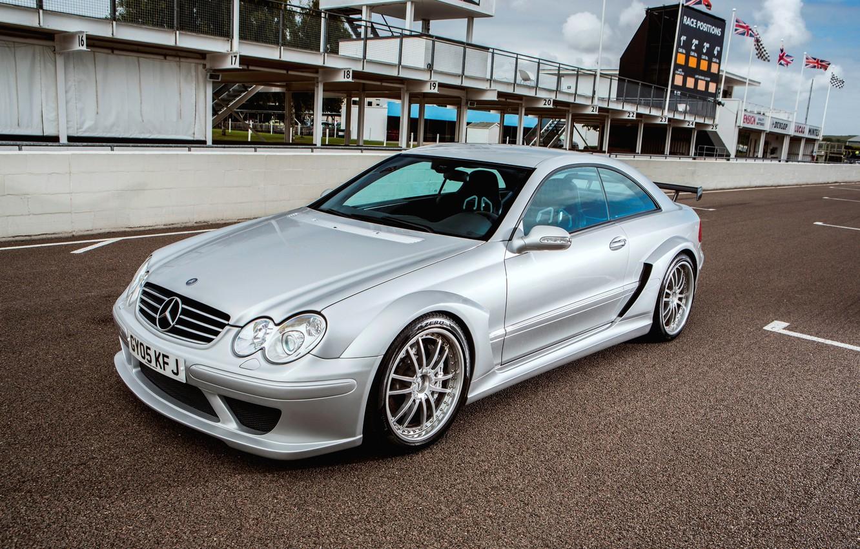 Photo wallpaper Mercedes-Benz, Mercedes, AMG, DTM, 2004, DTM, CLK-Class, C209