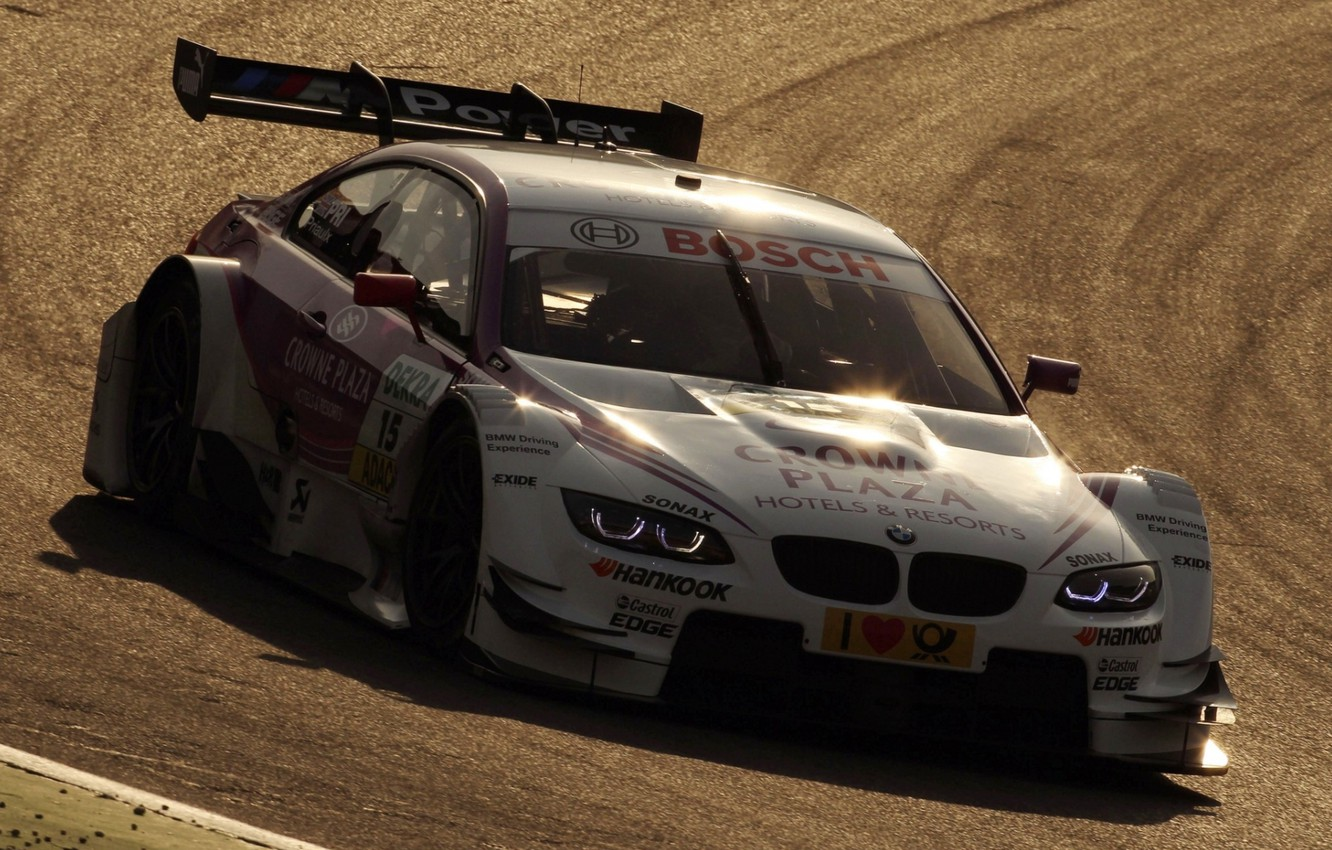 Photo wallpaper lights, tuning, bmw, BMW, supercar, tuning, the front, racing car, dtm, DTM