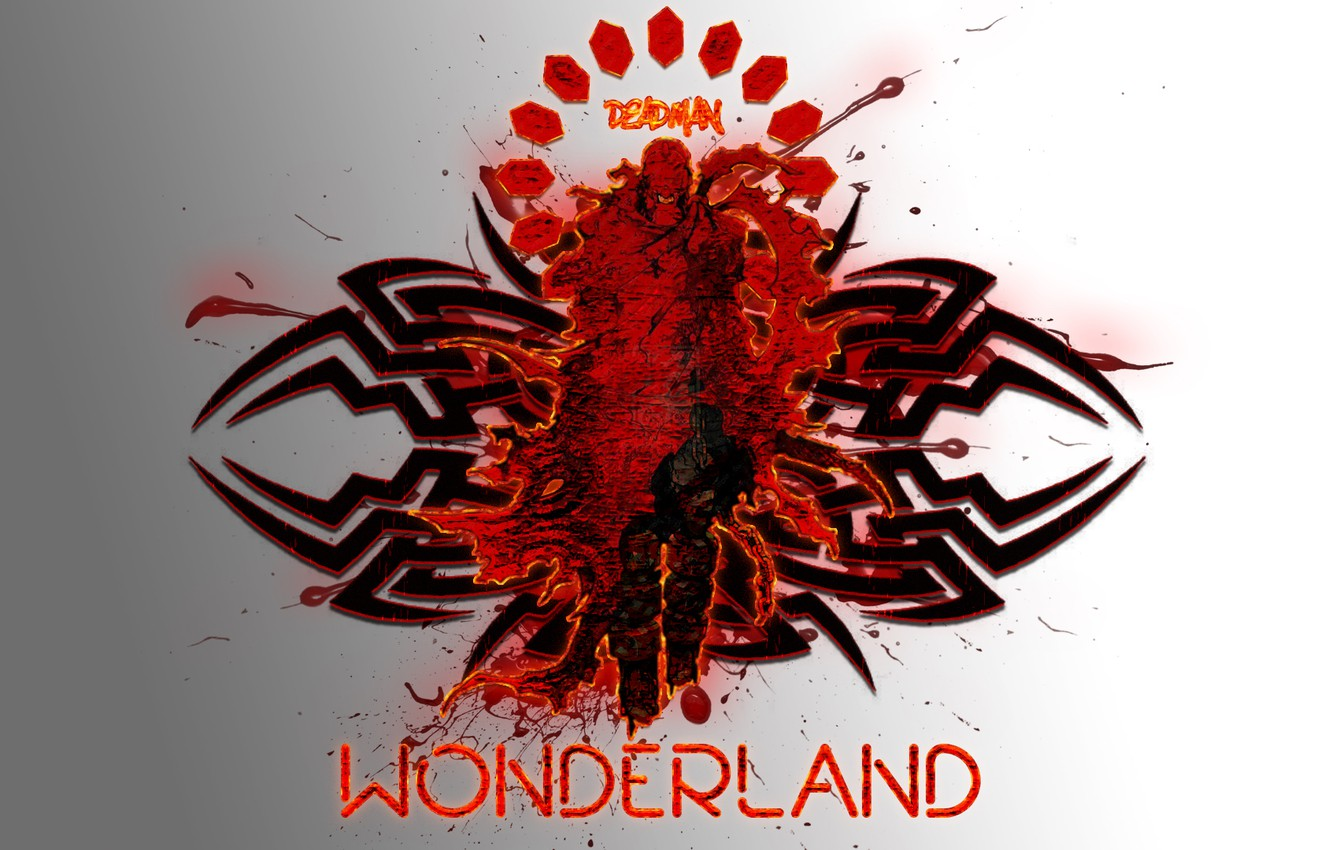 Photo wallpaper Anime, The red man, Deadman wonder land