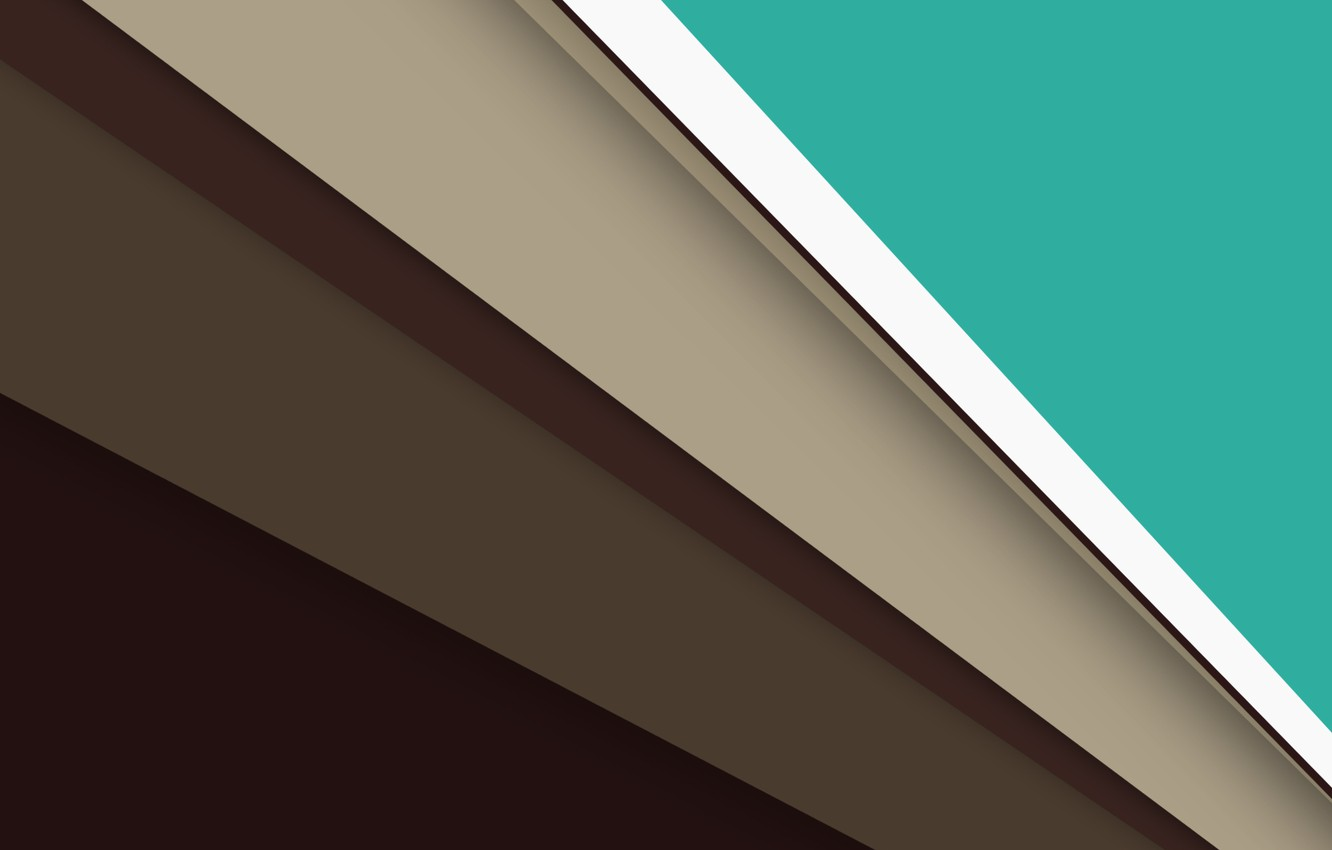 Photo wallpaper line, green, Android, brown, beige, material