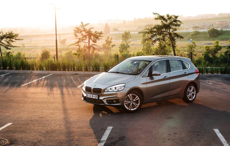 Photo wallpaper BMW, Active, Tourer, 2015, ZA-spec, F45, BMW 218i