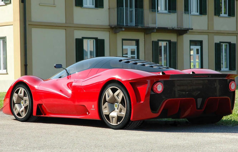 Photo wallpaper Concept, 2006, Ferrari, Pininfarina, P4-5