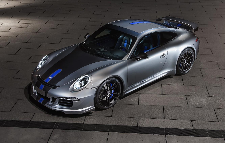 TECHART Porsche Turbo Side Vent Detail HD Wallpaper