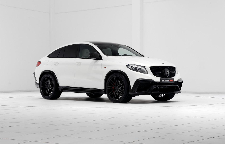 Photo wallpaper Mercedes-Benz, Brabus, Mercedes, AMG, Coupe, BRABUS, AMG, 2015, C292, GLE-Class