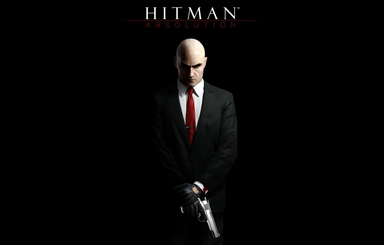 Photo wallpaper gun, hitman, Hitman 5, hitman 5, absolution, Hitman, silver baller, hitman absolution