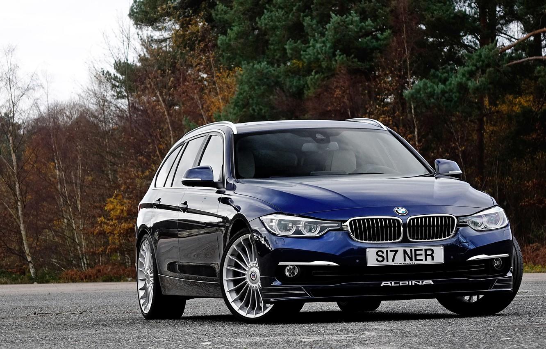 Photo wallpaper BMW, BMW, universal, Touring, Alpina, F31, 3-Series